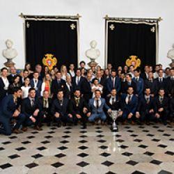 Selecção de Hóquei em Patins condecorada por Marcelo Rebelo de Sousa
