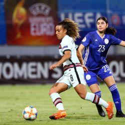 Portugal venceu em Chipre e mantêm objectivos do apuramento para Europeu feminino